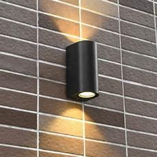 up down 10w cob led wall light fixture waterproof l outdoor lighting walkway balcony