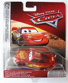 metallic lightning mcqueen voiture cars 3