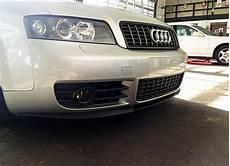 audi a4 s4 b6 8e 8h front bumper chin spoiler lip splitter valance s line