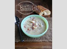 clam chowder using canned clams_image