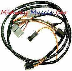 A C Air Conditioning Wiring Harness 62 63 64 65 Pontiac