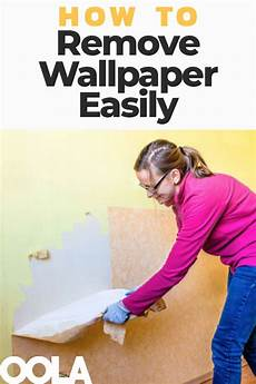 3 Tips On How To Remove Wallpaper Easily Cleaning