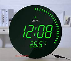 creative large led digital wall clock modern design home