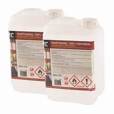 Bio Ethanol 100 - bio 201 thanol 192 100 d 201 natur 201 20 x 3 l h 214 fer chemie