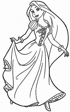 rapunzel tangled coloring pages at getdrawings free