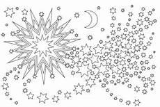 Gratis Malvorlagen Weihnachten Sterne Weihnachtsstern Zum Ausmalen Ausmalen