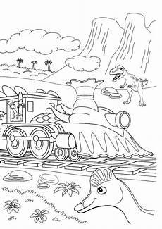 Malvorlage Dino Zug Ausmalbilder Dino Zug 14 Ausmalbilder Kinder