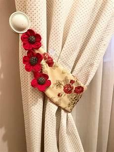 fiori per tende come fare un embrasse per tende in stoffa nellessenziale