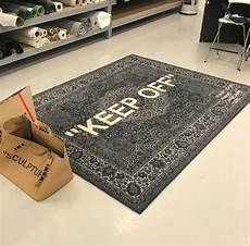 virgil abloh teased his ikea collab at a pop up store in