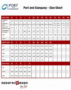 Mens Business Shirt Size Chart Port And Company Size Chart Clothing Sizing Fit Guide