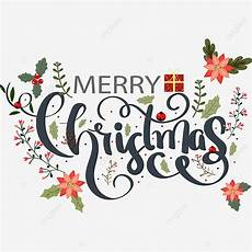 merry christmas text vector and typography decoration creative text effect eps for free download