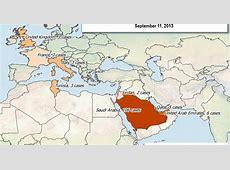 map of coronavirus cases