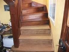 pon 231 age et vitrification d un escalier int 233 rieur en ch 234 ne