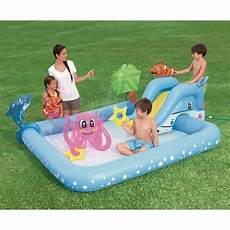 bestway piscine gonflable fantastic aquarium 239x86x206 cm