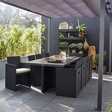 Salon De Jardin Encastrable R 233 Sine Tress 233 E Noir 8