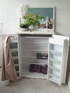 Garderobe Mit Sitzbank Antik Wei 223 Landhaus Truhenbank