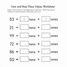 easy place value worksheets for kindergarten 5100 free 13 sle place value worksheet templates in pdf ms word