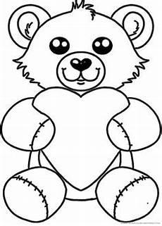 Malvorlagen Teddy Mit Herz Ausmalbild Benjamin Blumchen 14 Coloring 5 14