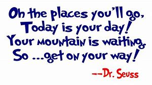 Image result for dr seuss quotes about graduation