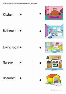 worksheets rooms 19037 rooms in the house język angielski worksheets for garage bedroom room