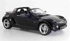 smart roadster black 2003 kyosho diecast model car 1 18