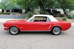 1965 FORD MUSTANG CONVERTIBLE  185867