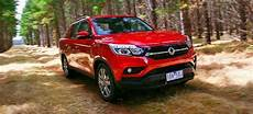 Best Ute Review 2019 ssangyong musso dual cab ute 4x4 review