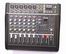 Pro 1000w 6 Channel Mixing Console Power Lifier Live