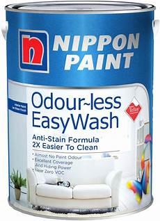 nippon paint odourless easywash 5l 2338 colours interior paints horme singapore
