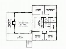 1600 square foot ranch house plans cabin style house plan 4 beds 2 baths 1600 sq ft plan