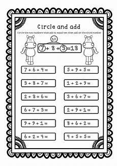 1st grade math worksheet adding 3 numbers adding three numbers add 3 numbers worksheets