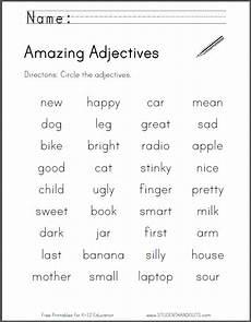 grammar worksheets adjectives 24698 amazing adjectives worksheet free to print pdf file adjective worksheet teaching