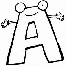 Malvorlagen Buchstaben Lernen Kostenlose Malvorlage Buchstaben Lernen Buchstabe A Zum