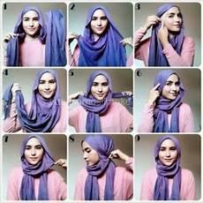 Tutorial Jilbab Segi Empat Tanpa Ciput Dengan