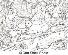 orangutan illustrations and stock 1 411