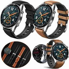 Bakeey 22mm Canvas Leather Smart by Bakeey 22mm Silicone And Leather Band For Amazfit