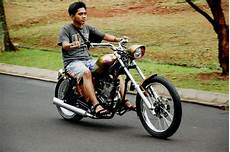 Modifikasi Harley by Modifikasi Honda Tiger Jadi Harley Davidson Thecitycyclist