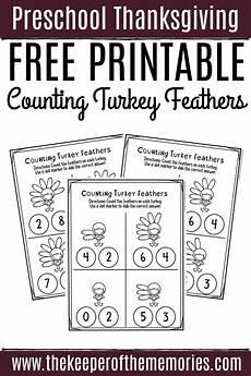 free printable counting thanksgiving preschool worksheets