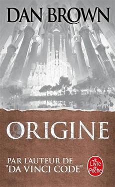 livre de poche livredepoche livre origine dan brown le livre de poche thrillers