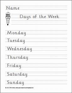cursive handwriting worksheets days of the week 21350 preschool worksheet samut samot