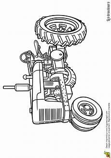 Malvorlagen Auto Farmer Limage 224 Colorier Dun Vieux Tracteur In 2020