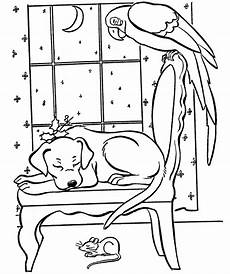 winter animals coloring pages for preschool 17197 animals in winter printable worksheets sketch coloring page