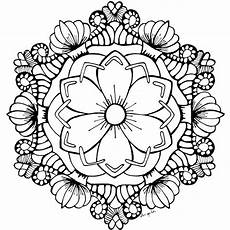 Ausmalbilder Sommerblumen August Flower Garden Coloring Page