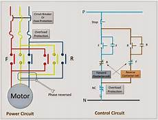 electrical engineering world power control circuit for forward and motor