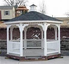 gazebo kits for sale 16x16 vinyl gazebo kit garden structures
