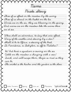cursive copywork poetry handwriting practice by apples and bananas education