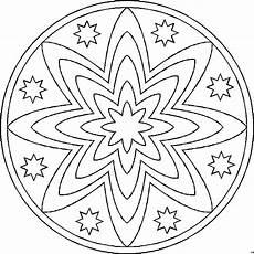 Mandala Malvorlagen Gratis Mandala Sterne Ausmalbild Malvorlage Mandalas