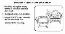 2004 grand am stereo wiring diagram 2004 pontiac grand am installation parts harness wires kits bluetooth iphone tools wire