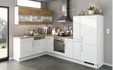 Küche Inklusive Montage - einbauk 252 che eco lack in wei 223 bei hardeck kaufen