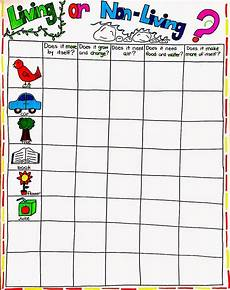 science worksheets living and nonliving things 12103 living and non living unit